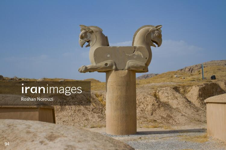 Achaemenid griffin at Persepolis