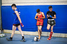 The 17th National Kickboxing competitions