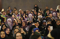 Campaign rally of women in support of Hassan Rouhani