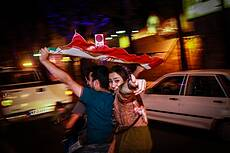 Celebration of nuclear agreement in Iran