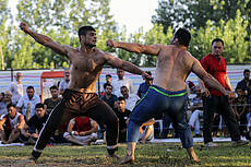Indigenous Wrestling League in Gilan Province