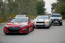 Sport Cars in Arvand Free Zone