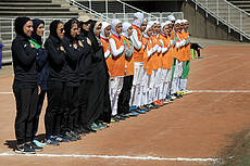 The first friendly match between Iran and Jordan U19 team before Asian qualifications was held at the Ararat Stadium .Iranian women's U19 won 3-1