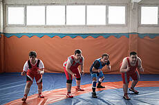 The First Down syndrome Wrestling Team in the World