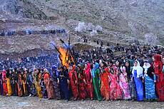 Kurdish dance for Nowruz