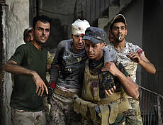 Iraqi Army Continues Fight Against ISIS In Mosul
