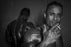International Bodybuilding Tournament in Tabriz