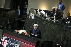 President Hassan Rouhani Speaks About Nuclear Deal