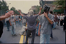 Iran student protests, July 1999