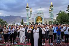 Eid al-Fitr Prayer in Tehran