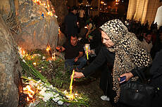 Commemoration of the flood victims of Shiraz