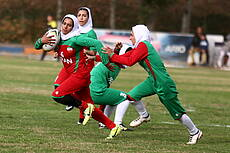 Iran and Germany Friendly Rugby Match in Tehran