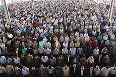 Eid al-Fitr Prayer in Semnan