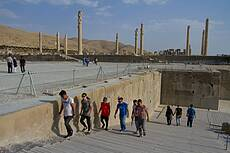 The Great Double Staircase at Persepolis
