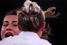 Tokyo Olympic Women's Karate Competition