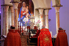 Christmas Mass in Sarkis Cathedral