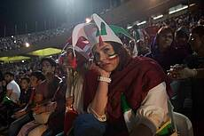 Women in Azadi Stadium